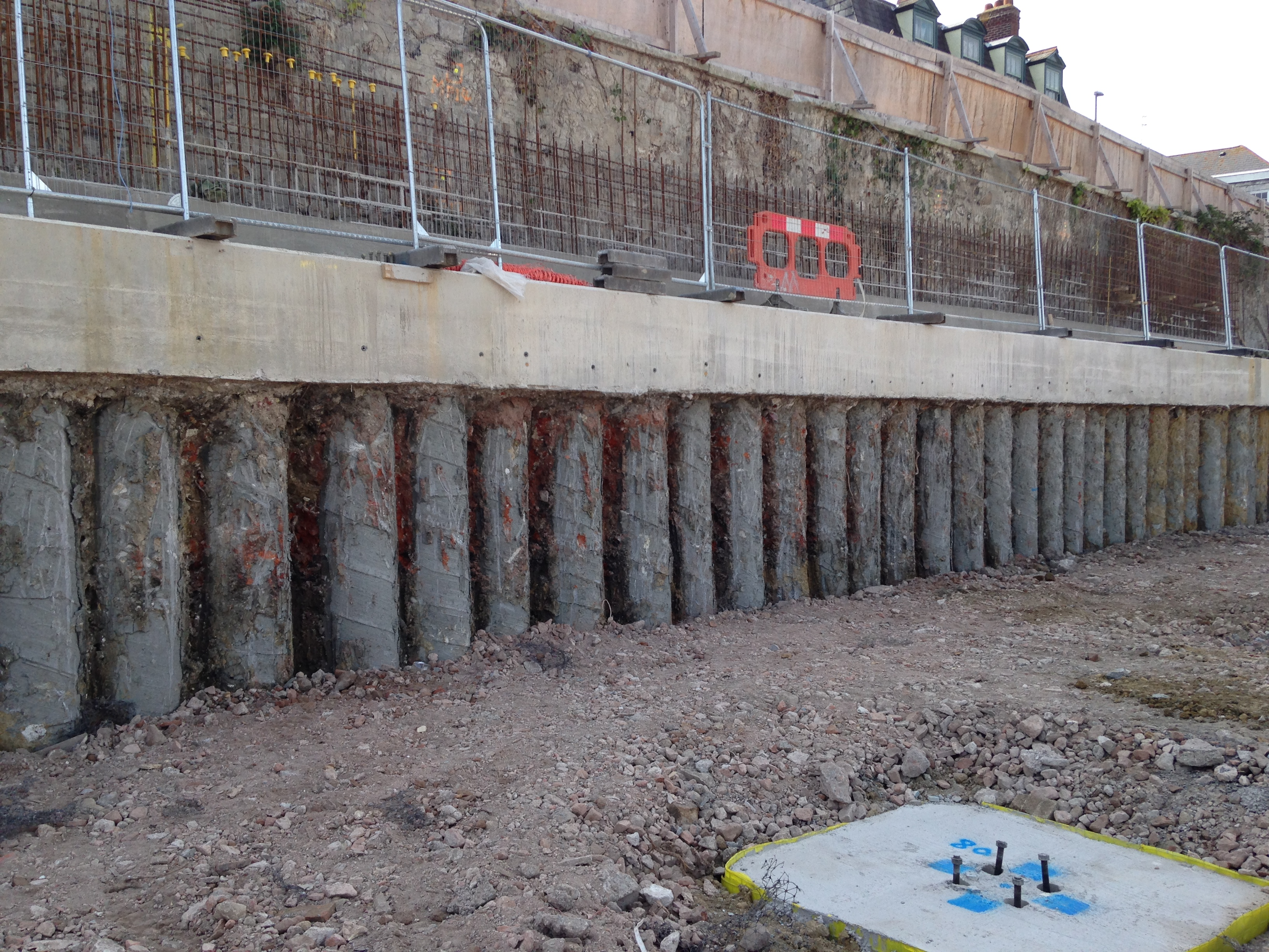 Bearing Pile And Retaining Wall Design Geofirma Ltd